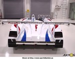 Racing Audi R8 LMP900, Uploaded for: bigjohn110@hotmail.com Summary Model Year: 2000 Make: Audi Model: R8 Vehicle Type: Le Mans Prototype - (LMP) 900 Monocoque: Carbon Fiber / Honeycomb FIA-ACO Approved Body Panels: Carbon Fiber Kevlar Engine: 90 degree 32 vavle V8. Twin Garret Turbochargers. 2X 32.4 restriktors, Boost limit of 1670 millibar Bosch MS 2.8 with full telemetry ability and electronic wastegate control. Engine Lubrication: Two stage dry sump. Using Shell Racing SR oil Displacement: 3600 cc Output: 610 bhp Torque: 700 Nm Clutch: Multi plate carbon fiber Gearbox: Ricardo. Pneumatically shifted six speed sequential. Multiplate limited slip differential with viscous coupling. Pressure fed oil system. Driveshafts: Constant-velocity tripod joint Front Axle: Double wishbone-rocker supension. 4 way adjustable shock absorbers, Servo assisted rack and pinion steering high caster adjustable Rear Axle: Double wishbone rocker suspension, 4 way adjustable shock absorbers Brakes: Hydraulic dual-circuit brake system, monobloc calipers, floating carbon fibre brake rotors, driver adjustable bias system and brake wear sensors integrated into main display Wheels: O.Z. forged magnesium 13.5 front, 14.5 rear Tyres: Michelin racing slicks Length: 4650 mm Width: 2000 mm Height: 1080 mm Minimum Weight: 900 kg Tank Capacity: 90 liters