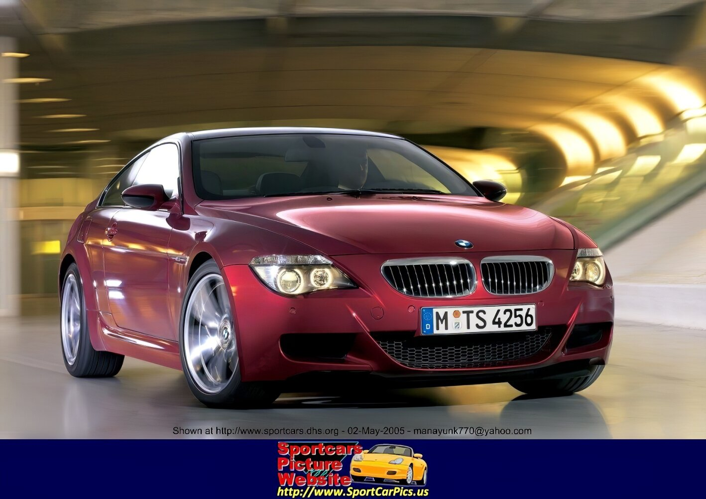 2006 BMW M6 Base price: $85,000 (est.) Engine: 5.0 liter V-10, 507 hp/384 lb-ft Transmission: Sequential seven-speed DSG semi-automatic, rear-wheel drive Length x width x height: 191.7 x 73.2 x 53.9 in Wheelbase: 113.0 in Curb weight: 3770 lb Fuel economy (EPA city/hwy): N/A Safety equipment: Dual front and side airbags, anti-lock brakes, stability control, stability control, traction control Major standard features: Automatic climate control, power windows/mirrors/locks, electric rear defroster, 19-inch wheels, cruise control, tilt/telescoping steering wheel, CD changer/MP3 player Warranty: Four years/50,000 miles - BMW M6 - ID: 12444