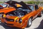 Production (Stock) Chevrolet Camaro, Chevrolet Camaro - File:Chevrolet Camaro Z28 (Auto classique Showtime Muscle ... Source: <a href='https://commons.wikimedia.org/wiki/File:Chevrolet_Camaro_Z28_(Auto_classique_Showtime_Muscle_Cars_'12).JPG' target='_blank'>https://commons.wikimedia.org/...</a>