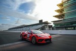 Production (Stock) Chevrolet Corvette Stingray, Chevrolet Corvette Stingray - La Chevrolet Corvette C8 Stingray Pace Car d'Indy 500 ... Source: <a href='https://www.motorlegend.com/actualite-automobile/la-chevrolet-corvette-c8-stingray-pace-car-d-indy-500/21549.html' target='_blank'>https://www.motorlegend.com/...</a>