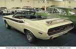 Production (Custom) Dodge Challenger,  1971 DODGE CHALLENGER R/T HEMI CONVERTIBLE