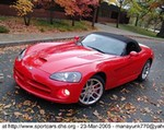 Production (Stock) Dodge Viper, 2005 Dodge Viper SRT-10