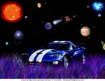 Art Dodge Viper, not too bad for my first photoshop