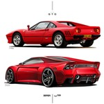 Production (Stock) Ferrari 288 GTO, Ferrari 288 GTO - Ferrari 288 GTO Old vs New | Ferrari 288 gto, Sports car ... Source: <a href='https://www.pinterest.nz/pin/425871708508124612/' target='_blank'>https://www.pinterest.nz/...</a>