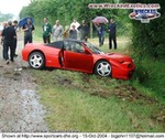 Crash Ferrari 348 Spider, Ferrari 348