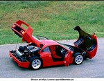 Production (Stock) Ferrari F40, Awesome pic of a F40. - dockingbay101.com/bsws.html