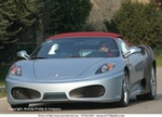 Production (Stock) Ferrari F430 Spider, Leaving the retractable-hardtop trend behind.