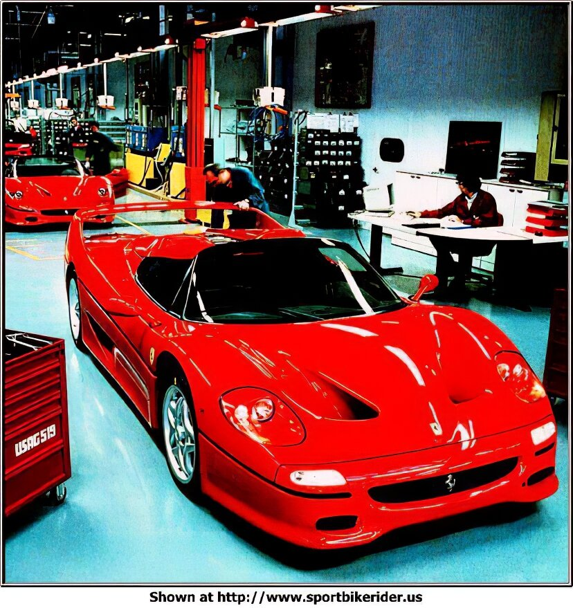 this is a F50 Ferrari  - Ferrari F50 - ID: 1014