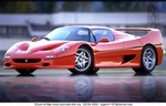 Production (Stock) Ferrari F50, Ferrari F50