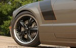 Production (Custom) Ford Mustang, Chip Foose with his handy work on the 2006 Ford Mustang created the limited-edition Stallion. The changes include cleaner front and slightly enhanced rear-end styling, lowered rocker panels, a sculpted hood with a functional air scoop and custom crafted 20-inch wheels.