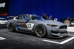 Production (Stock) Ford Mustang, Ford Mustang - Ford's New Mustang GT4 Racecar Debuts at the 2016 SEMA ... Source: <a href='https://www.motoroso.com/forgeline/Garage/5805071241381/SEMA-Show-2016/581bc43ad52e6/Fords-New-Mustang-GT4-Racecar-Debuts-at-the-2016-SEMA-Show-on-Forgeline-One-Piece-Forged-Monoblock-GS1R-Wheels' target='_blank'>https://www.motoroso.com/...</a>