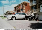 Production (Custom) Ford Taurus, Taurus SHO V8 Yamaha engine with my 2 Yamaha bikes R1 and R6