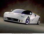 Concept Cars Ford GT-90, Ford - GT-90 - 2385