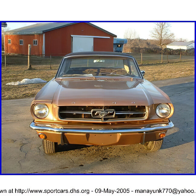 Ford Mustang - ID: 12702