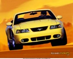 Production (Stock) Ford Mustang, 2003 Ford Mustang Cobra