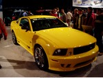 Production (Stock) Ford Mustang, New Mustang Saleen 05