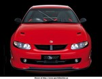 Production (Stock) HSV HRT 427, Only 50 of these are to be produced. 427ci engine, built for racing, but are street legal.