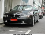 Production (Stock) Holden Commodore SS, Holden Commodore SS Front