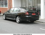 Production (Stock) Holden Commodore SS, Holden Commodore SS Back
