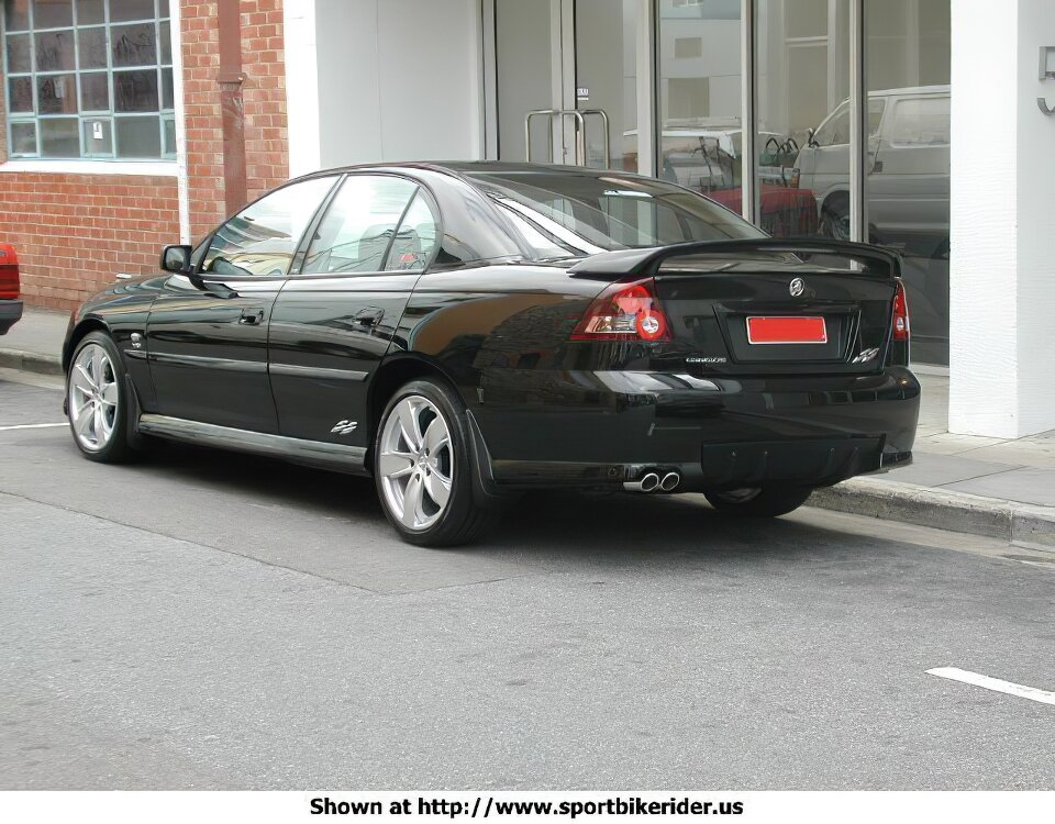 Holden Commodore SS Back - Holden Commodore SS - ID: 1011