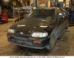 Production (Stock) Honda CRX, Honda CRX