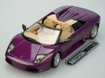 Production (Stock) Lamborghini Murcielago Roadster, Lamborghini Murcielago Roadster - Maisto 1:18 Lamborghini Murcielago Roadster (purple) 31636 Source: <a href='https://www.abecedamodelu.cz/maisto/31363/1-18/lamborghini/murcielago-roadster-purple' target='_blank'>https://www.abecedamodelu.cz/...</a>