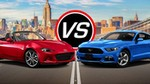 Production (Stock) Mazda Miata, Mazda Miata - 2016 Mazda MX-5 Miata vs Ford Mustang EcoBoost i4 - Spec ... Source: <a href='https://www.youtube.com/watch?v=wp6fOcPPNZY' target='_blank'>https://www.youtube.com/...</a>