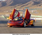 Production (Stock) Mclaren F1, F1 at the track