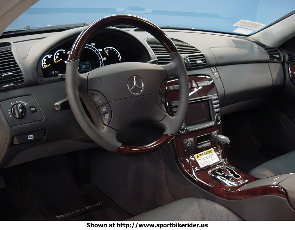 Mercedes-Benz CL600 - ID: 1139