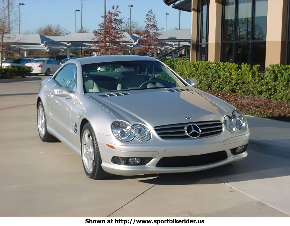 Mercedes-Benz SL500 - ID: 977
