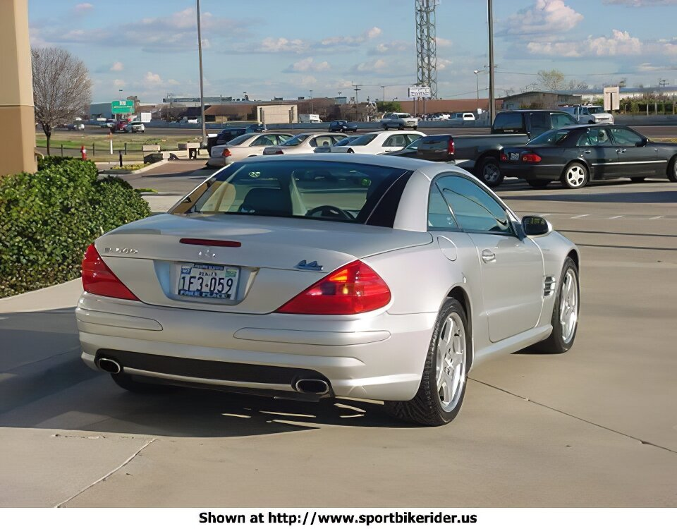 Mercedes-Benz SL500 - ID: 979