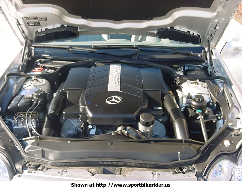 Mercedes-Benz SL500 - ID: 981