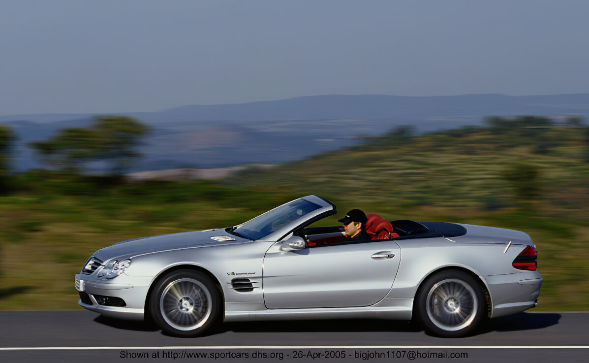 Mercedes-Benz SL55 - ID: 12122