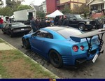 Production (Custom) Nissan GTR, the fast and the furious 6 behind the scenes 1