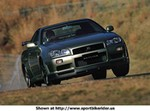 Production (Stock) Nissan Skyline GT-R, 2002 -Nissan - Skyline GT-R - 1602