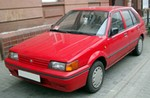 Production (Stock) Nissan Sunny, Nissan Sunny - 1990 Nissan Sunny iii hatchback (n14) – pictures ... Source: <a href='http://auto-database.com/nissan/sunny/1990/sunny-iii-hatchback-n14_1990/' target='_blank'>http://auto-database.com/...</a>