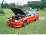 Production (Custom) Nissan Sunny, Sentra SE-R