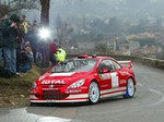 Production (Stock) Peugeot 307 WRC, Peugeot 307 WRC - Marcus Grönholm driving the Peugeot 307 WRC on the 2004 ... Source: <a href='https://www.pinterest.fr/pin/489696159452731300/' target='_blank'>https://www.pinterest.fr/...</a>