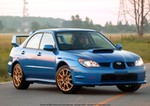 Production (Stock) Subaru WRX, Subaru Impreza WRX