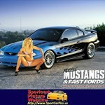 Women Ford Mustang, Ford - Mustang - 17314