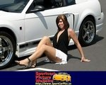 Women Ford Mustang, Ford - Mustang - 17386