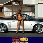 Women Ford Mustang, Ford - Mustang - 17390
